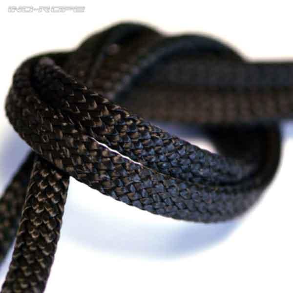 Une photo d'un cordage surgaine en Black Dyneema de la marque Lancelin