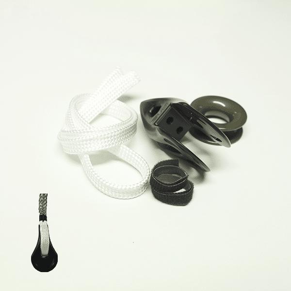 Poulie Ino-Ending 3.6 - poulie intégrée au câble de bastaque ou de pataras
