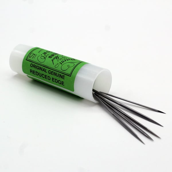 photo d'aiguilles a coudre tube de cinq sur la boutique ino rope