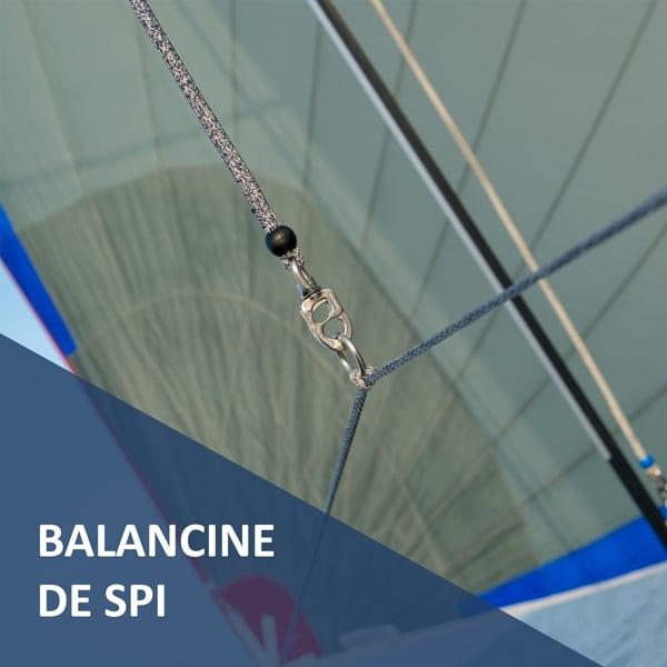 Balancine de Spi prête à l'emploi Croisière Côtière