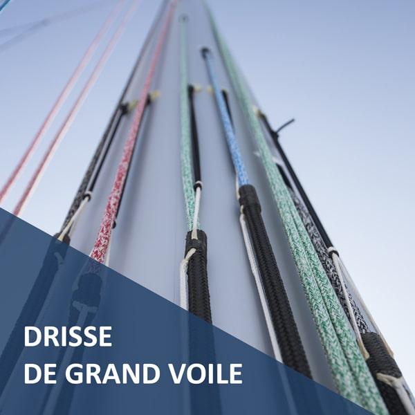 Drisse de Grand-Voile Premium prête à l'emploi Croisière Côtière