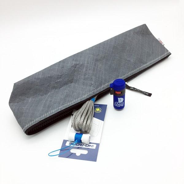 Trousse de matelotage avec son kit manille textile