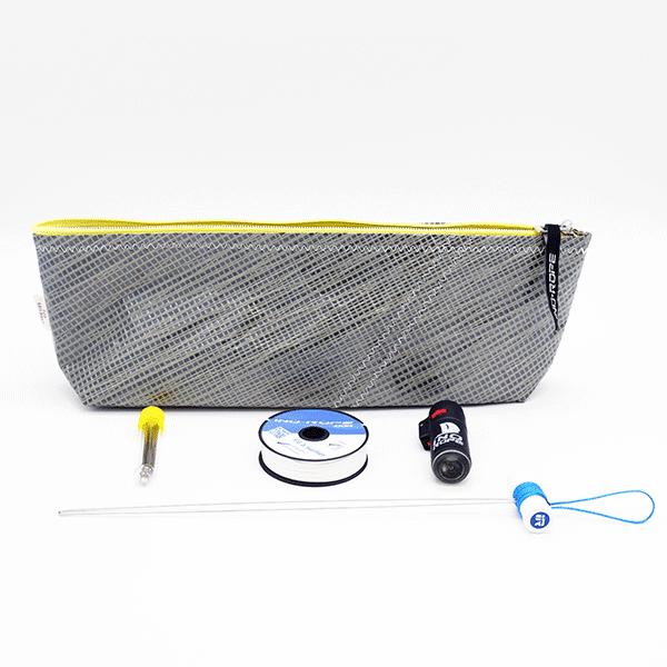 Le kit de matelotage débutant avec trousse en voile recylée