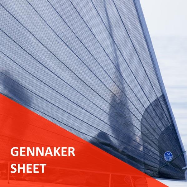 Écoute de Gennaker prête à l'emploi Course au Large