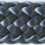 photo d'un cordage alba bleu marine