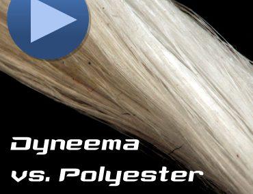 Comparison Polyester vs Dyneema® under load