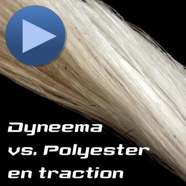 Comparatif Polyester vs Dyneema ® en traction
