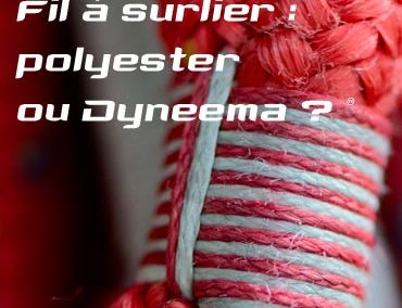 Whipping twine: polyester or Dyneema®, what is the best choice ?